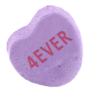 Chatty Candy Hearts messages sticker-0
