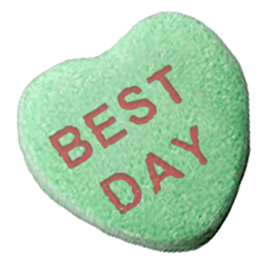 Chatty Candy Hearts messages sticker-9