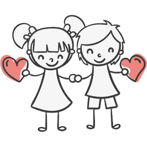 Boy and Girl Stickers messages sticker-2