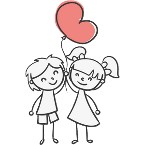 Boy and Girl Stickers messages sticker-1