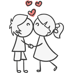 Boy and Girl Stickers messages sticker-3