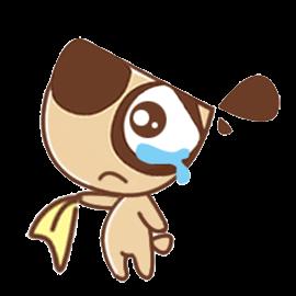 Daodao dog messages sticker-4