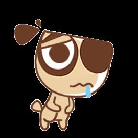Daodao dog messages sticker-10