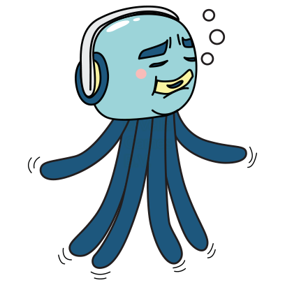 Cranky Octo - Octopus Stickers messages sticker-3