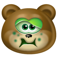TeddyBear Stickers Pack For iMessage messages sticker-4