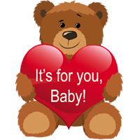 TeddyBear Stickers Pack For iMessage messages sticker-2