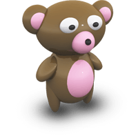 TeddyBear Stickers Pack For iMessage messages sticker-3