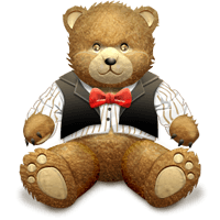 TeddyBear Stickers Pack For iMessage messages sticker-0