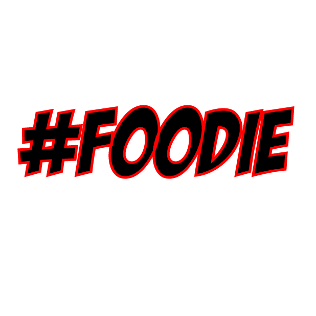 #Foodie-Hashtag Stickers for Food Lovers! messages sticker-0