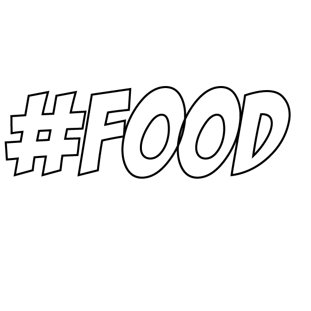 #Foodie-Hashtag Stickers for Food Lovers! messages sticker-5