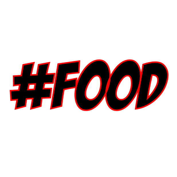 #Foodie-Hashtag Stickers for Food Lovers! messages sticker-4