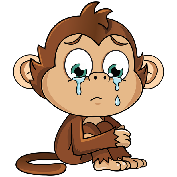 Cute Monkey Stickers messages sticker-2