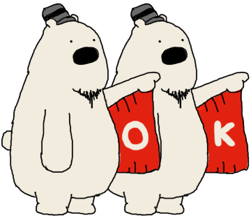 Polar Bear, Oneday messages sticker-7