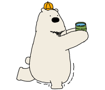Polar Bear, Oneday messages sticker-4