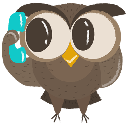 Cute Owls - Funny Owls messages sticker-1