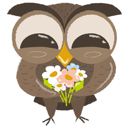 Cute Owls - Funny Owls messages sticker-2