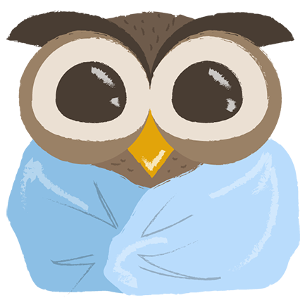Cute Owls - Funny Owls messages sticker-5