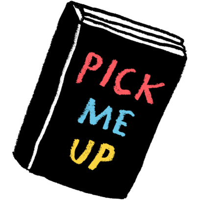 Pick Me Up Book messages sticker-0