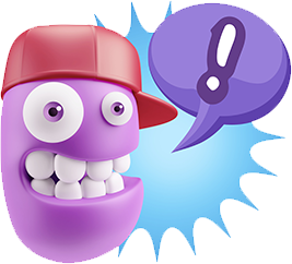 3D Expressions 2 messages sticker-1