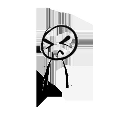 Mr Stick messages sticker-5