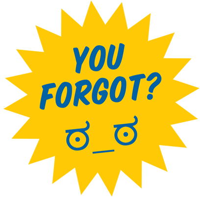 Don't Forget Sticker Pack messages sticker-7