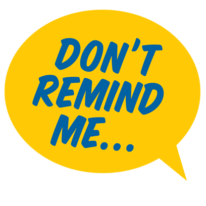 Don't Forget Sticker Pack messages sticker-9