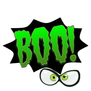 Shriek! Spooky Sound Comic Bubbles messages sticker-5