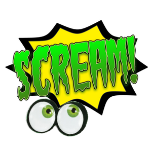 Shriek! Spooky Sound Comic Bubbles messages sticker-6