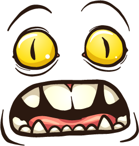 Monster Face - Stickers for iMessage messages sticker-10