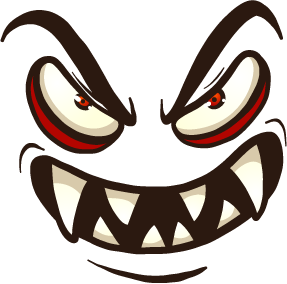 Monster Face - Stickers for iMessage messages sticker-7