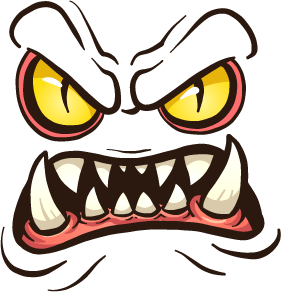 Monster Face - Stickers for iMessage messages sticker-11