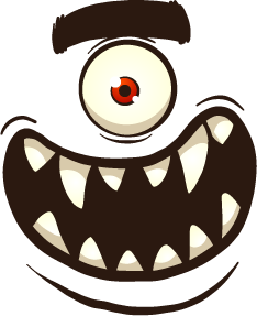 Monster Face - Stickers for iMessage messages sticker-0