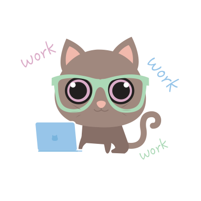 KIKI Cat messages sticker-3