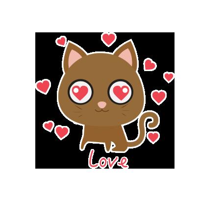KIKI Cat messages sticker-1