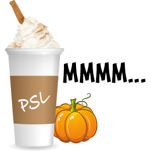 Pumpkin Spice Latte messages sticker-10