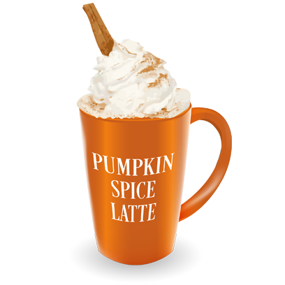 Pumpkin Spice Latte messages sticker-3