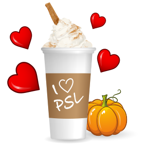 Pumpkin Spice Latte messages sticker-9
