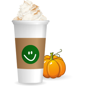 Pumpkin Spice Latte messages sticker-5