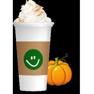 Pumpkin Spice Latte messages sticker-5