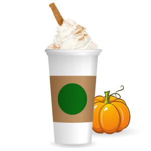 Pumpkin Spice Latte messages sticker-6