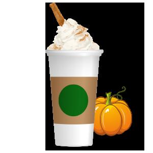 Pumpkin Spice Latte messages sticker-6