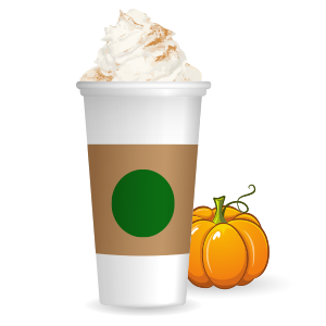 Pumpkin Spice Latte messages sticker-7
