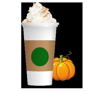 Pumpkin Spice Latte messages sticker-7