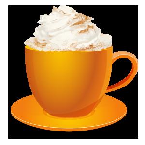Pumpkin Spice Latte messages sticker-4