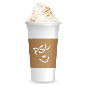 Pumpkin Spice Latte messages sticker-1