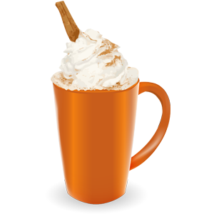 Pumpkin Spice Latte messages sticker-2