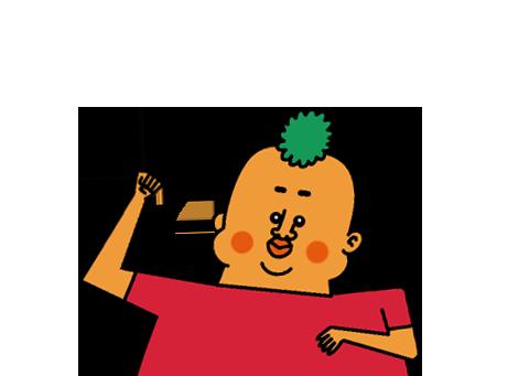 Kimchi Man - GuiGui messages sticker-4