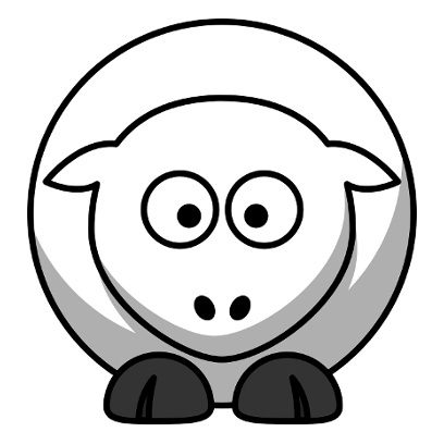 Sheep Stickers messages sticker-6