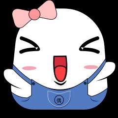 萌宝胖扑 messages sticker-9
