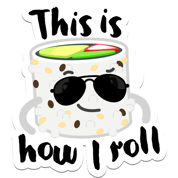 Sushi Stickers for iMessage messages sticker-9